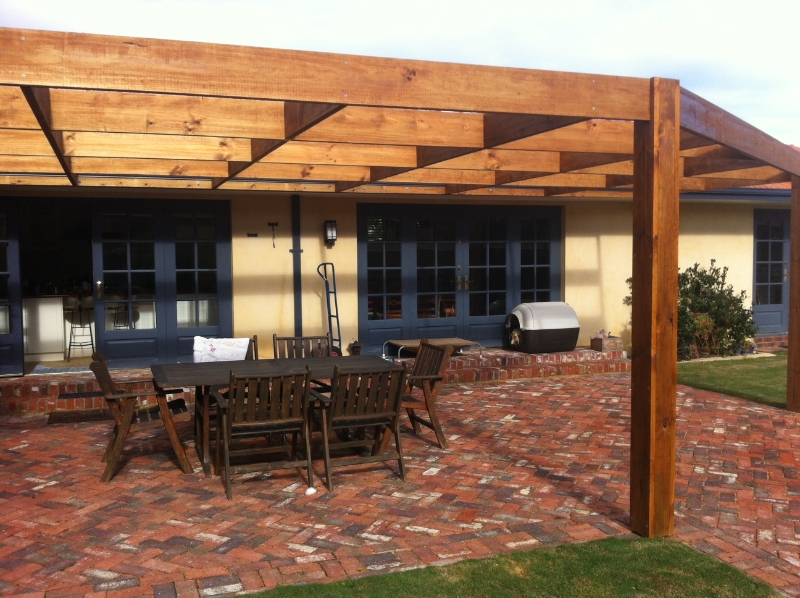 timber pergola ideas