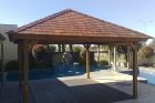 cedar shingle gazebo