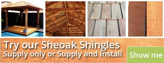 Perth Sheoak Shingles