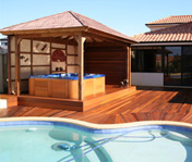 Challenging Timber Pool Decks