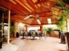 Cedar Lined Timber Patio