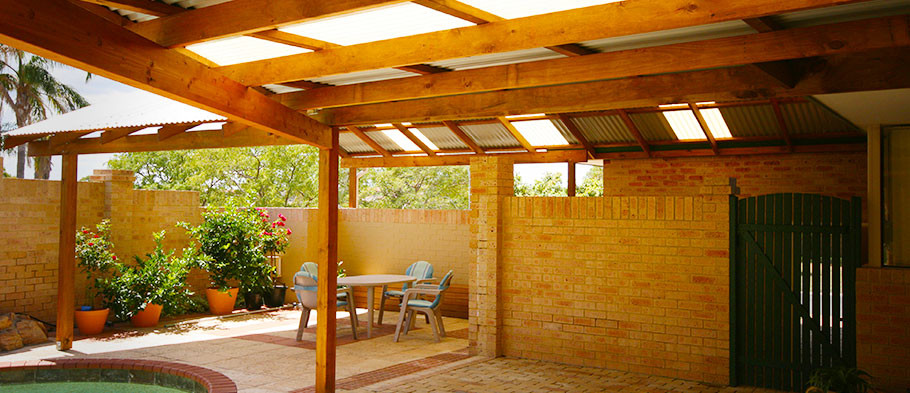 Timber Frame Patios