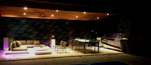 Stylish Perth Patio Up In Lights